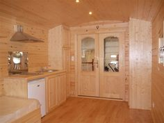 | Roulottes | Log Cabins Scotland , Margater interior 1