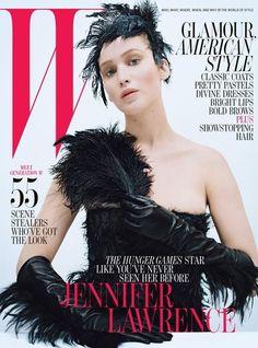 Jennifer Lawrence - W Magazine - W October 2012 Cover