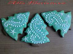 (49) Одноклассники Christmas Cookies Gift, Christmas Cupcakes, Christmas Treats, Christmas Baking, Fancy Cookies, Iced Cookies, Russian Cookies, Ginger Bread Cookies Recipe, Dessert Decoration