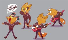 RIDE THE CHARIOT! AWOOOOO! A little bit of Gregg for my fellow Night in the Woods fans. I kinda wanna draw Bea too.