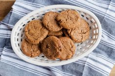 Flourless Almond Butter Chocolate Chip Cookies | London Bakes -- Dairy Free (sub Chocolate Chips), Gluten Free