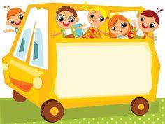 School Photo Frames, School Photos, Artsy Background, Cartoon Background, Children's Day Craft, Cartoon School Bus, Inspirational Classroom Posters, School Border, School Timetable