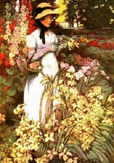 Anna Whelan Betts (1875–1952) American illustrator ~ Blog of an Art Admirer