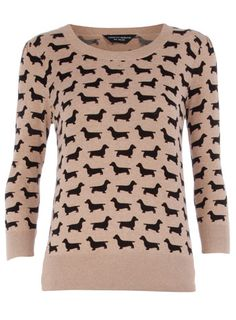 Wiener dog sweater!