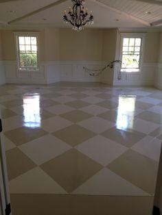 Lovely White Floor Paint Concrete