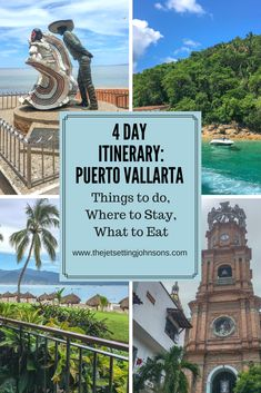 Planning a trip to Mexico? Follow our four day itinerary for Puerto Vallarta. We share the best things to do, places to stay and, most importantly, foods to eat.