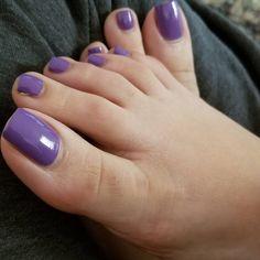 Pin on Toes Pretty Toe Nails, Cute Toe Nails, Sexy Nails, Sexy Toes, Pretty Toes, Pedicure Colors, Nail Colors, Long Toenails, Nice Toes