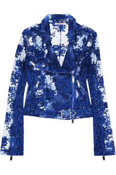 Christopher Kane | Lace biker jacket | NET-A-PORTER.COM
