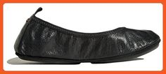 Yosi Samra Women's Stella Samara Flat, Black, 6 - Flats for women (*Amazon Partner-Link)