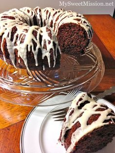 Our Triple Chocolate Sour Cream Bundt Cake is decadently rich, super moist and chocolate to the max! And, the light sour cream saves calories and fat too.