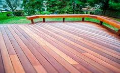 Image result for kayu deck benches