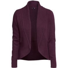 H&M Wine color cardigan Like New Worn just one or two times, as new, no kneading or any imperfections at all! Have Navy one as well.      Maroon is $17 Medium       Navy is $15 Small slightly more wear to it. H&M Sweaters Cardigans