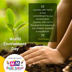"""""""Journey with me to a true commitment to our environment. Journey with me to the serenity of leaving to our children a planet in equilibrium"""". ~Paul Tsongas #WorldEnvironmentDay #Environment #GoGreen #ConnectingPeopleWithNature #ConnectWithNature #Nature #SaveTrees #SavePlanet #World #Earth"""