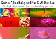 Karizma Album Background Files 12x36 Download