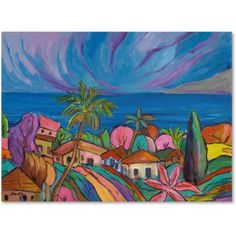 Trademark Fine Art Haiku Canvas Art by Manor Shadian, Size: 35 x 47, Multicolor