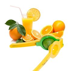 ENJOY FRESH-SQUEEZED LEMON, LIME, ORANGE & OTHER CITRUS JUICES ALL IN ONE PRESS