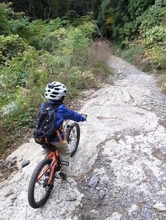 It's a rough route  #cycling #cyclingkids