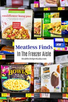 #ad Meatless Finds in the Freezer Section | A meatless grocery haul from @walmart's freezer section featuring some of the new meatless and plant-based frozen food options now available at their stores. #meatless #plantbased @amyskitchen @gfmsimple @sodelicious #wholegrain #newfromamys #amyskitchen #organicveggies #amysveggiecrustpizza #mariecallenders Frugal Meals, Easy Dinners, Fitness Blogs, Grocery Haul, Vegetarian Recipes, Healthy Recipes, Healthy Lifestyle Changes, Supper Recipes, Running Gear