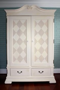 Harlequin Armoire by It's Great To Be Home,