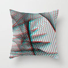Delia Raicu - Asymmetriphobia    Throw Pillow - $20.00