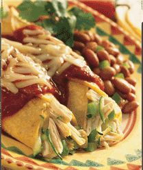 Power Enchiladas: A lighter, leaner more nutritious version of the classic favorite.