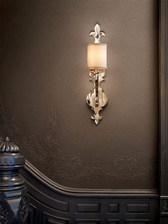 Esquire 1 Light Wall Sconce in Polished Nickel Corbett Lighting, Luxury Lighting, Light, Wall Sconce Lighting, Sconces, Modern Luxury Lighting, Polished Nickel, Lighting, Polished Nickel Wall Sconce