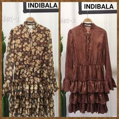 Custom made Collection for a Danish Client for Autumn ! Developed the style just from a Google image sent by our Client, in our mill stock prints....@Indibala The Designer has design this Dress which is made in soft moss crepe and has trendy flute/bell long sleeves cascading down to  a flurry  ruffles at the bottom. This fabric is soft to touch and fits perfectly .  #indibala #indianmarket #manufacturer #exporter #oitd #fashion #rufflefashion #trend #trendyindibala #fashionabledress Indian M, Flute, Danish, Custom Made, Ruffles, Fashion Dresses, Touch, Autumn, Long Sleeve