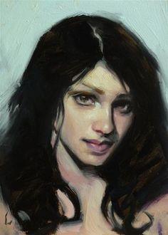 "Daily Paintworks - ""Soft Chill"" - Original Fine Art for Sale - © John Larriva"
