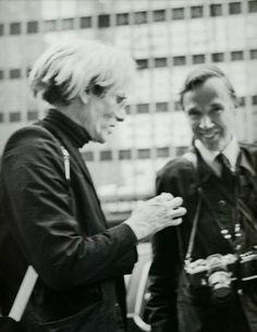 Andy Warhol & Bill Cunningham