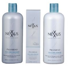 The Best Hair Products for Damaged, Dry, Coarse Hair - Nexxus - Hair Treatment Products For Damaged Hair, Best Hair Care Products, Dry Damaged Hair, Dry Hair, Small Hair Cut, Thick Coarse Hair, Good Shampoo And Conditioner, Best Shampoos, Body Hacks
