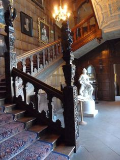 Temple newsam fine jacobean staircase.
