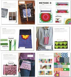 Opslag fra hæftet »Små tasker« af Sofie Meedom