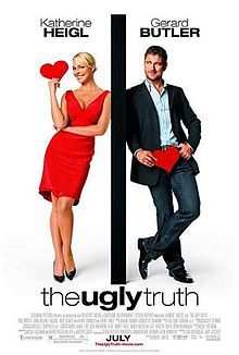 """The Ugly Truth (2009)  Katherine Heigl and Gerard Butler <3  An approach to understand how women and men """"see"""" a relationship."""