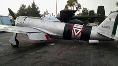 P47 cazabombardero utilizado en Filipinas por el Escuadrón 201 de la Fuerza Aérea Expedicionaria Mexicana