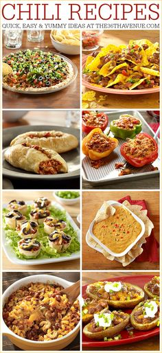 30 minute Chili Recipes and Chili Cook-Off Party Printables at the36thavenue.com #HormelChili #HormelNationalChili