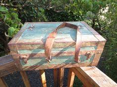Antique Primitive Wood Leather Carpenter Tool by ComingAroundAgain