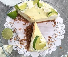 Potato Cakes, Key Lime Pie, Lemon Curd, Dessert Recipes, Desserts, Greek Recipes, Cheesecakes, Avocado Toast, Feta