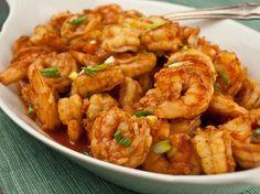 Steamed Cajun Shrimp, 3 points plus per serving and under 150 calories