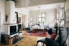 scandinavian themed interior design