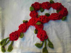 Bufanda de rosas by Julia-EVS