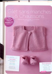 No Pattern - Just Idea. Baby Sweater Knitting Pattern, Baby Hats Knitting, Knitting For Kids, Baby Knitting Patterns, Baby Patterns, Free Knitting, Baby Cardigan, Knitted Baby Clothes, Baby Sweaters