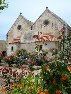 Crete, Greece  ~we discovered lovely old churches and monasteries everywhere