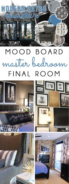 Master bedroom decorating ideas 2014 tim likes this dark blue wall color bedrooms pinterest - How to choose bedroom colors enjoy the look and the mood ...