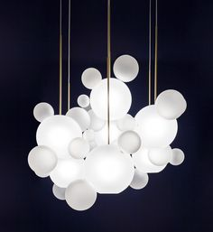 Bolle Frosted Chandelier BLS34Z