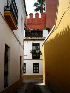 Antiguo barrio judío de Sevilla.  Jewish quarter in Spain