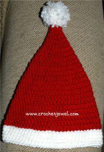 Toddler Santa Hat ~ free pattern