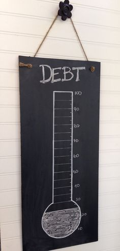 Dave Ramsey Debt Thermometer Debt Payoff by SimpleSerendipity