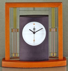 Frank Lloyd Wright® Willits House Clock, Clocks, Home Furnishings - The Museum Shop of The Art Institute of Chicago
