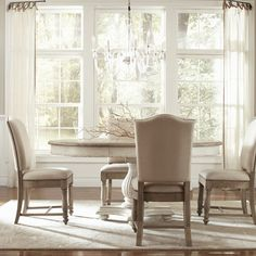 one day...nice dining room table like this. seating for 6 expandable to 10.