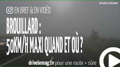 #VIDÉOBRÈVE #Brouillard : quand et où être limité à 50km/h ?: C'est un des risque de la saison : le brouillard,… pour + d'infos/vidéo